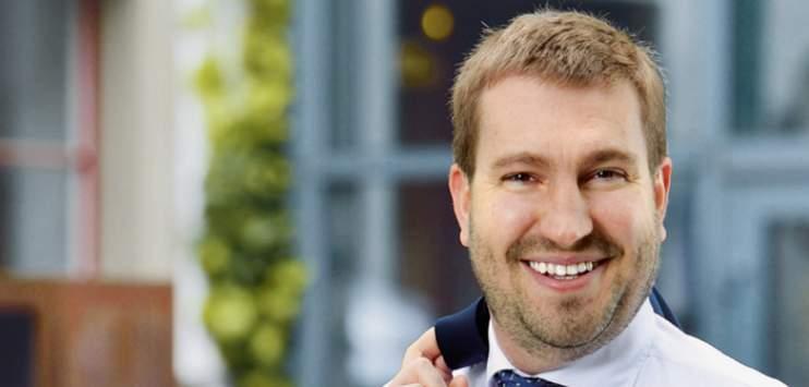 Michael Mundt (SVP) wird kurz vor der Wahl 35 Jahre alt und ist damit der jüngste Anwärter auf einen Stadtratssitz. (Bild svp.ch)
